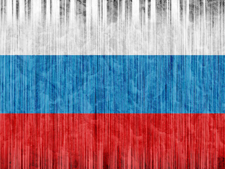 russia flag: Russia flag paper texture