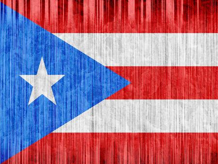 bandera de puerto rico: Puerto Rico bandera de papel de textura Foto de archivo