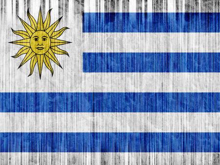 bandera de uruguay: Uruguay bandera de papel de textura