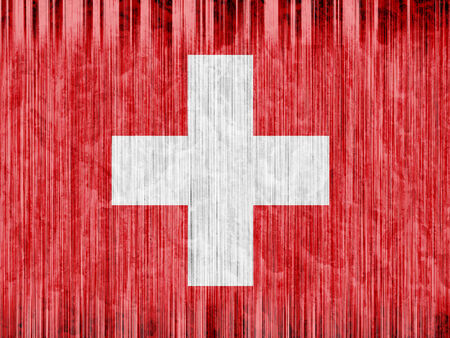 regional: switzerland flag paper texture