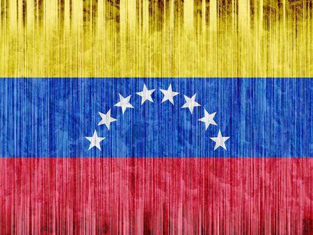 venezuela flag: Venezuela bandera de papel de textura