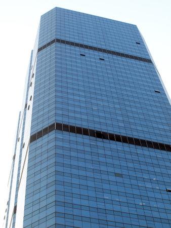 BANGKOK, THAILAND - JANUARY 25 : Modern glass building of Bangkok Business Center on ?January 25, 2014 in Bangkok.