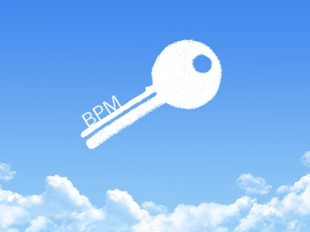 bpm: Key to Business Performance Management cloud shape