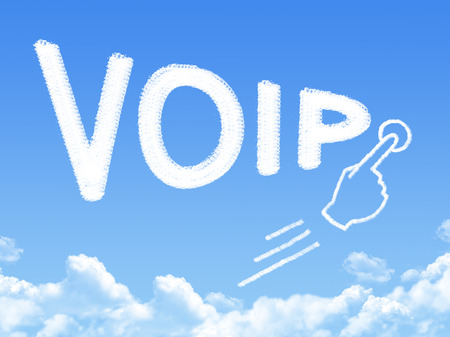 voip: VOIP message cloud shape