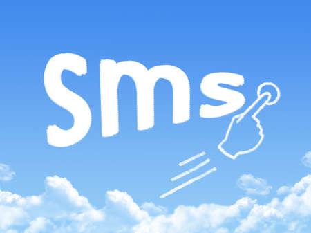 short message service: short message service message cloud shape