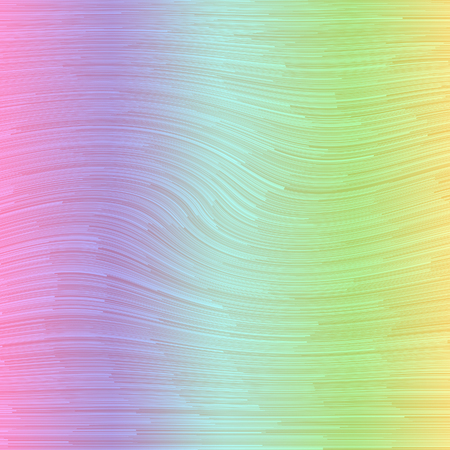 decibels: Rainbow gradient background