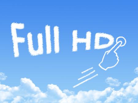 message cloud: Full HD message cloud shape