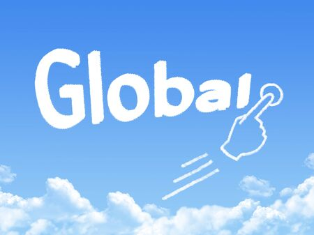 message cloud: global message cloud shape