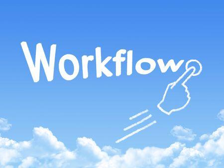 reengineering: workflow message cloud shape