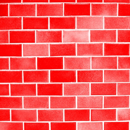 brick and mortar: red blocks wall background