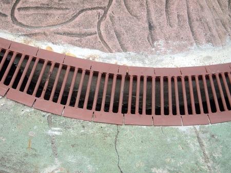 drain: Storm water drain close up