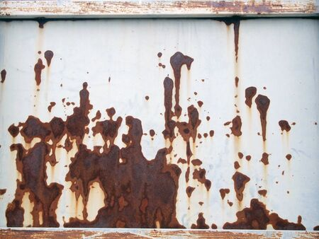 oxidation: Rusty texture for background Stock Photo