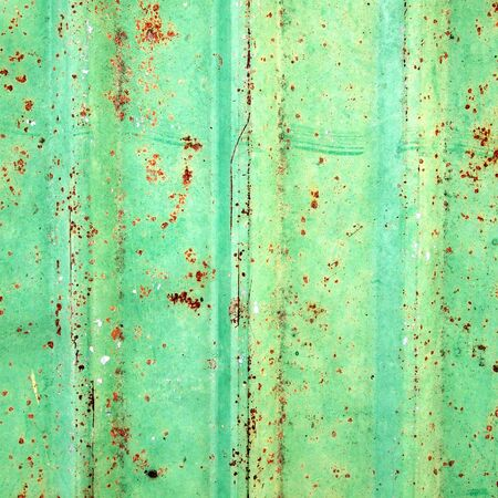 corrugated iron: rusty corrugated iron metal texture