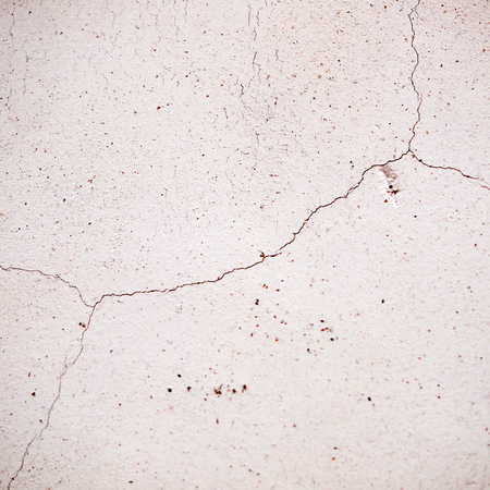 fissure: crack in the wall