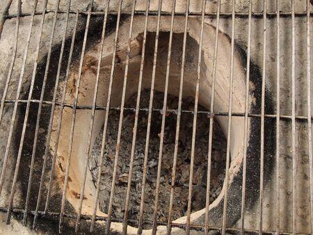 no fires: empty grill
