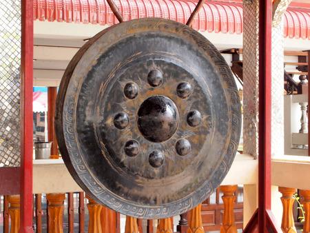 Ancient Thai gong photo