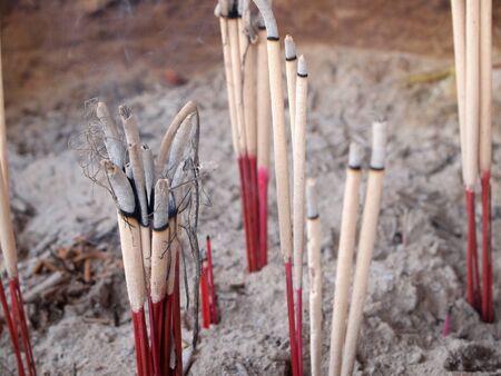 incienso: Incienso sticks  Foto de archivo