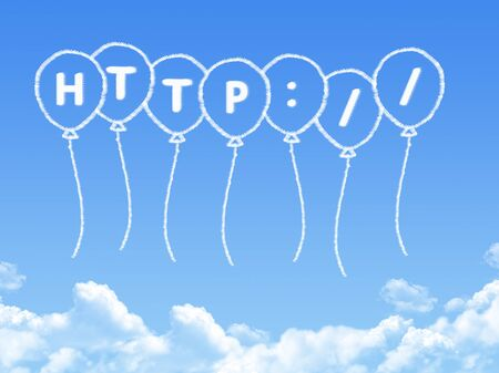 posit: Cloud shaped as http Message