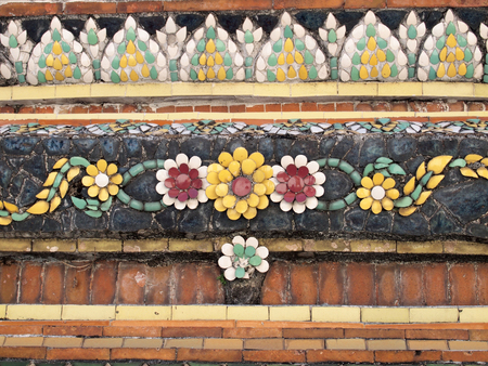 Traditional Thai style Carving photo