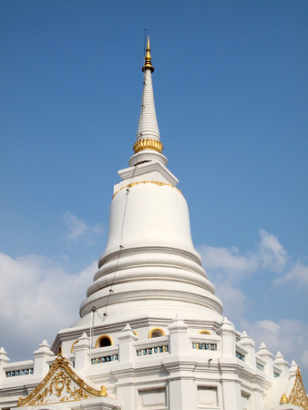 White Pagoda in a temple