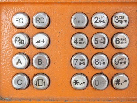 telephone: Telephone buttons
