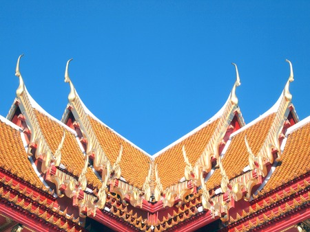 gable: Roof gable in Thai style