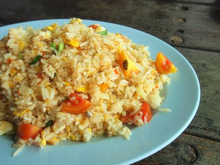 chinesisch essen: Gebratener Reis Lizenzfreie Bilder