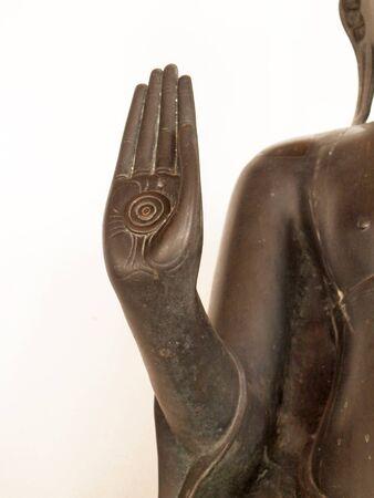 buddah: buddah Hand Stock Photo