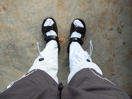 leech: proteger calcetín sanguijuela