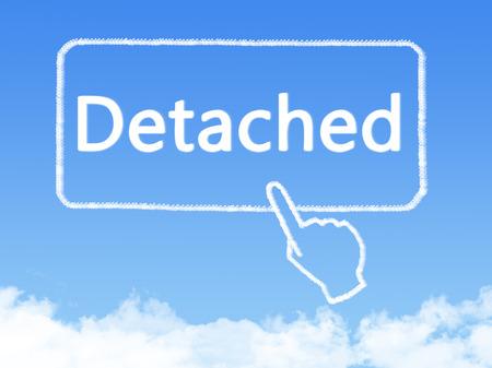 dysfunctional: detached message cloud shape