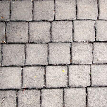 cobble: pavement Background of grey cobble stones