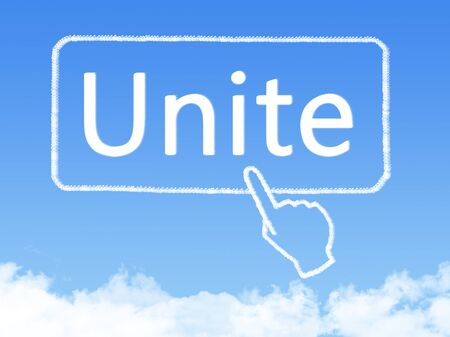 message cloud: unite message cloud shape