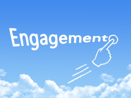 message cloud: engagement message cloud shape