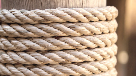 corded: rope texture