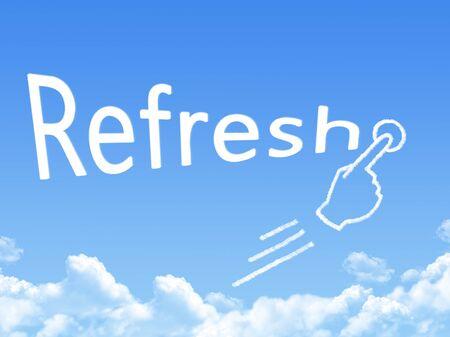 refresh message cloud shape
