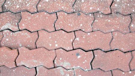 pavement Background of cobble stones Stock Photo