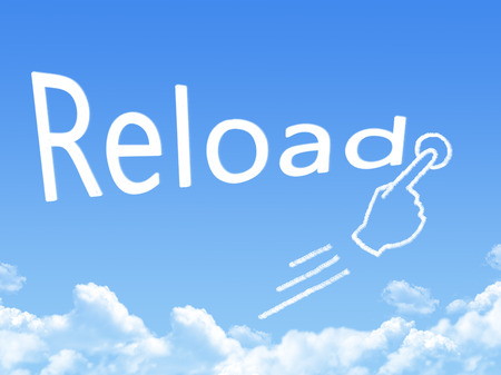 reload: reload message cloud shape