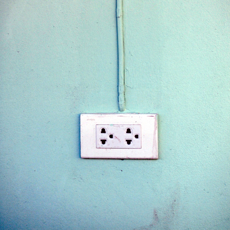 outlet: White Electrical Outlet