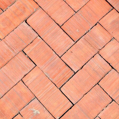 cobble: pavement Background of cobble stones Stock Photo