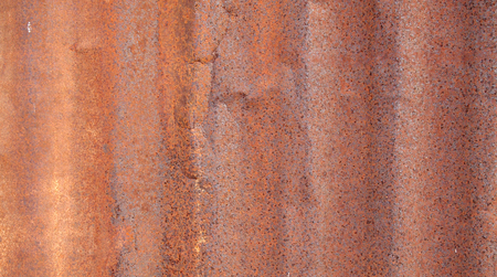 iron: Rusted galvanized iron plate