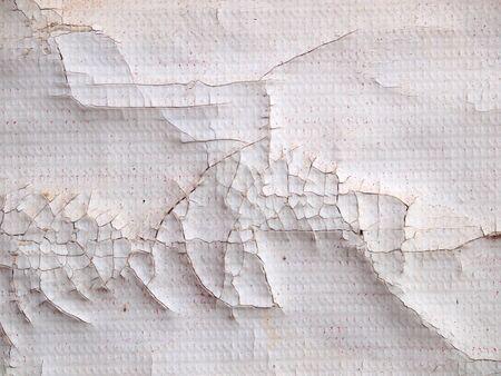 crushed: crack dirty plastic