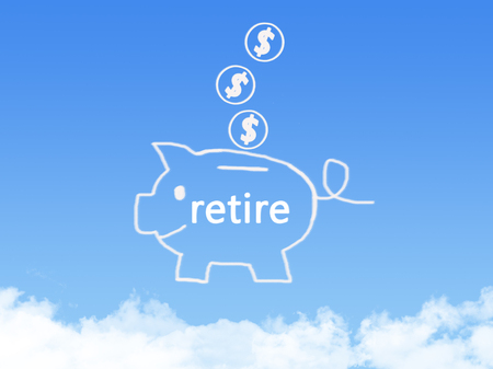 retire: saving for retire with cloud shape