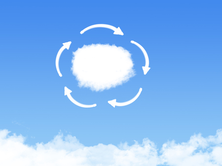 technology: Cloud connection technology abstract Stock Photo