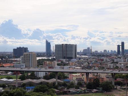 Bangkok, Thailand - June 17, 2015 : Modern glass building of Bangkok Business Center