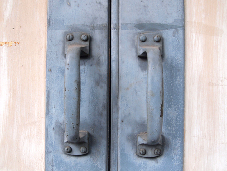door handle: old door handle