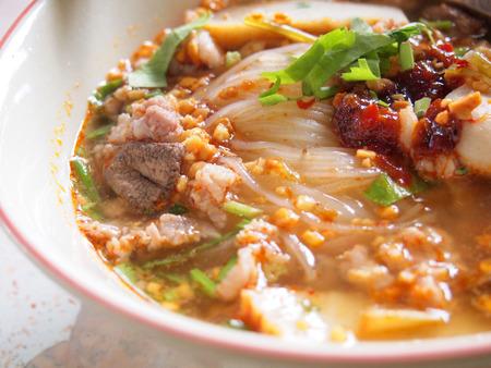 thai noodle: Thai noodle Stock Photo