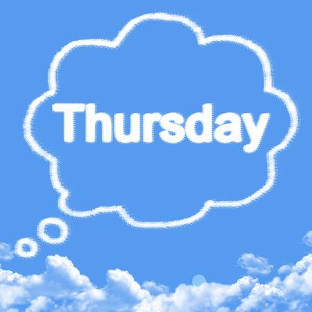 forme: thursday cloud shape