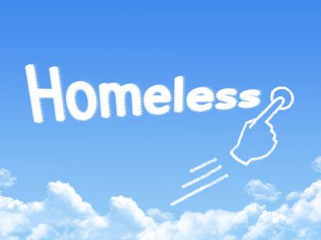 forme: homeless cloud shape