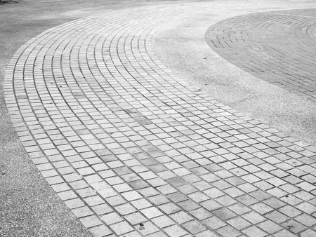 Brick footpath background