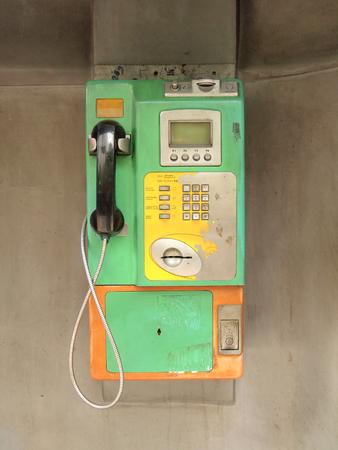 payphone: vintage thai phone